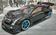 CADILLAC ATS-V.R Redcat Racing EP Brushless RTR Custom Painted Electric RC Street Cars Now With 2.4 GHZ Radio AND 2S Lipo Battery!!!