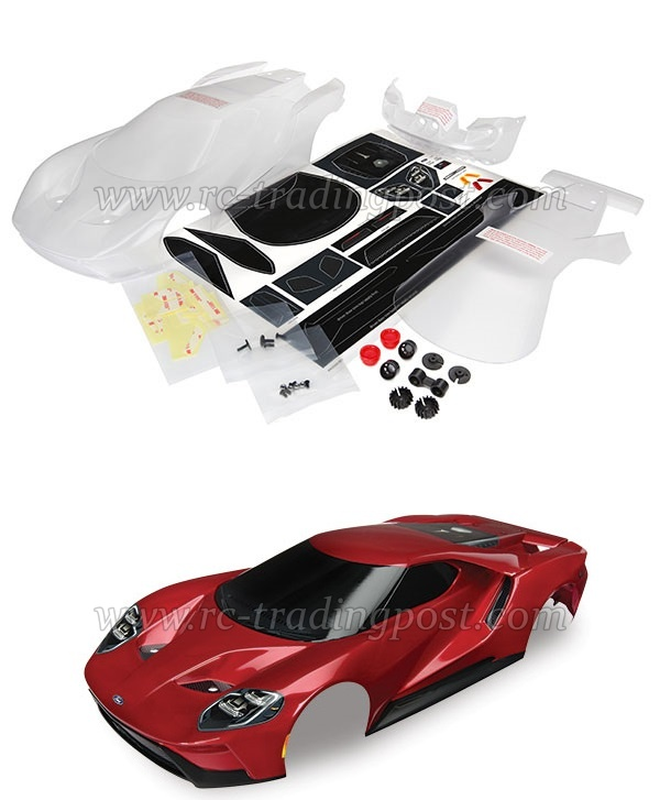 Clear Rc Body Ford Gt Mm Clear Rc Car Body Shell For Traxxas