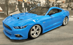 Ford Mustang Custom Painted RC Touring Car / RC Drift Car Body 200mm (Painted Body Only) For Vaterra V100-S