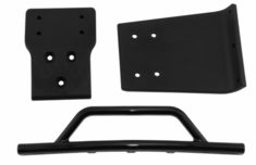 Black Front Bumper & Skid Plate for the Traxxas Slash 4�4