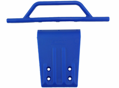 RPM Front Bumper Blue Slash 2wd