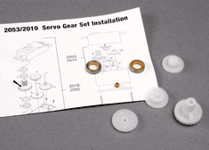 2010 - Gear set (for 2018 servos)