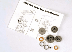 2053 - Servo gears (for 2055, 2056 servos)