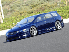 Honda Odyssey Custom Painted RC Touring Car / RC Drift Car Body 200mm (Painted Body Only)