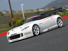 Honda S2000 Custom Painted RC Touring Car / RC Drift Car Body 200mm (Painted Body Only)