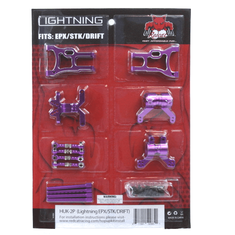 Lightning Pro/Drift/STK hop up kit (New version) (Purple)