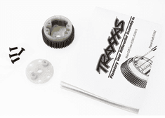 2381X - Main diff with steel ring gear/ side cover plate/ screws (Bandit, Stampede, Rustler)