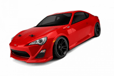 Scion FR-S Custom Painted RC Touring Car / RC Drift Car Body 200mm (Painted Body Only)