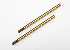 1664T - Shock shafts, hardened steel, titanium nitride coated (long) (2)