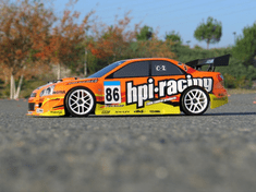 Subaru Impreza Custom Painted RC Touring Car / RC Drift Car Body 200mm (Painted Body Only)