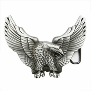 New American Pride Wild Life Western Eagle Belt Buckle