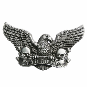 New Vintage Eagle Skull Belt Buckle Gurtelschnalle Boucle de ceinture