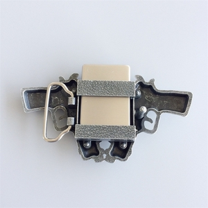New Vintage Guns Star Lighter Belt Buckle Gurtelschnalle Boucle de ceinture