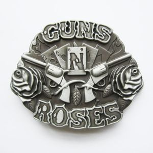 New Vintage Letter Belt Buckle BUCKLE-MU037 With or Without Enamel Choice