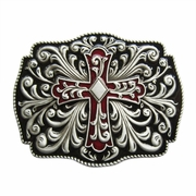 New Western Flowers Belt Buckle Gurtelschnalle Boucle de ceinture