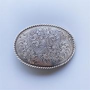 New Vintage Style Western Cowboy Southwest Oval Belt Buckle