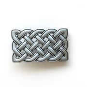 Small Size Vintage Celtic Cross Knot Belt Buckle