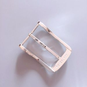 New Original Sterling Silver 925 Classic Pin Belt Buckle