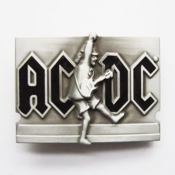 New Vintage Letter Belt Buckle BUCKLE-MU050 With or Without Enamel Choice
