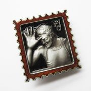 New Vintage Letter Belt Buckle BUCKLE-MU080 With or Without Enamel Choice