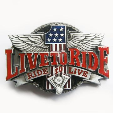New Vintage Biker Rider Belt Buckle
