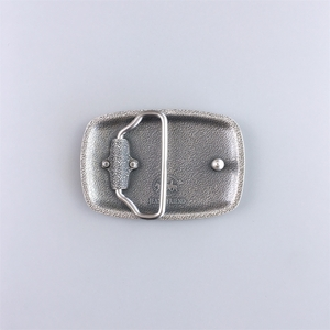 Jeansfriend Brand New Original Silver Plated Hammer Forged Rectangle Belt Buckle Large Small Size Choices