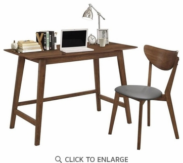 Mid-Century Desk and Chair Set
