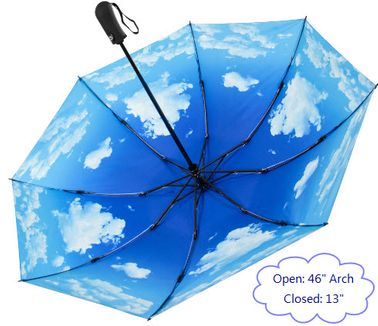 "46"" Blue Sky Compact Umbrella"