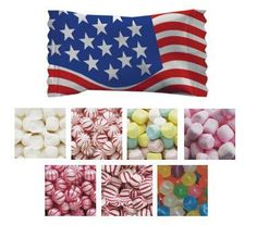 American Flag Mints & Candies - Case of 1000