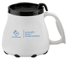 Ergonomic Plastic Coffee Mug - 16 oz
