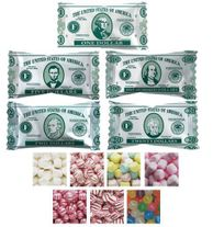 Funny Money Mints & Candies - Case of 1000