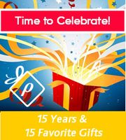 Promomento Spotlight:<BR>Celebrating 15 Years with 15 Favorite Gifts<BR><BR>