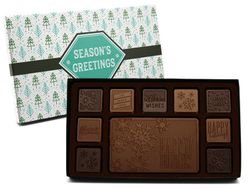 Season's Greetings Belgian Milk & Dark Chocolate Mix (Case of 5 Boxes)