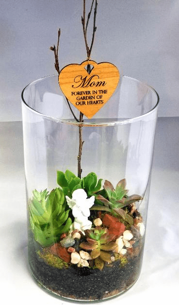 Personalized Succulent Enchanted Garden