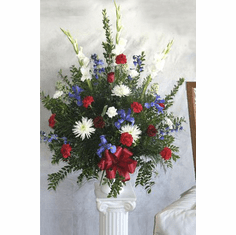 Red White and Blue Arrangement
