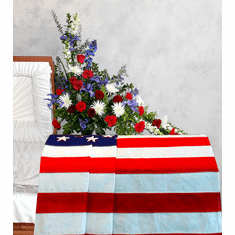 Veterans Tribute for Behind the Casket