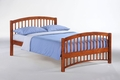 Molasses Platform Bed Frame - Twin & Full only, 3 finishes