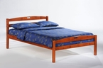 Sesame Platform Bed Frame - Twin & Full only, 3 finishes