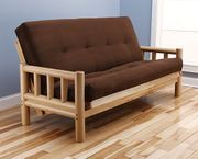 Timber Futon Package - Includes Frame & Mattress