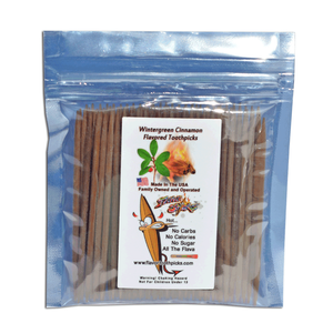 Wintergreen / Cinnamon Toothpicks 100 qty Bulk Bag