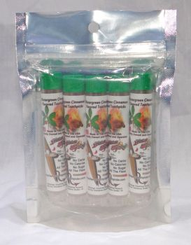 Wintergreen Cinnamon Toothpicks In Tubes 5 Pack