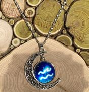 Aquarius The Water Carrier icon Moon Outer Universe