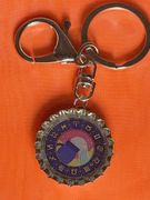 Aquarius Water Carrier icon keychain