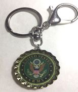 US United State Army Keychain