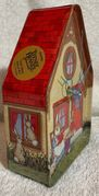 Teenee beanee easter bunny house (w/Music box)