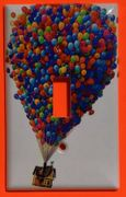 Up Flying Balloon house wall plate single