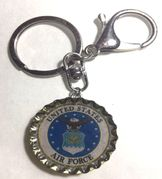 US United State Air Force Keychain