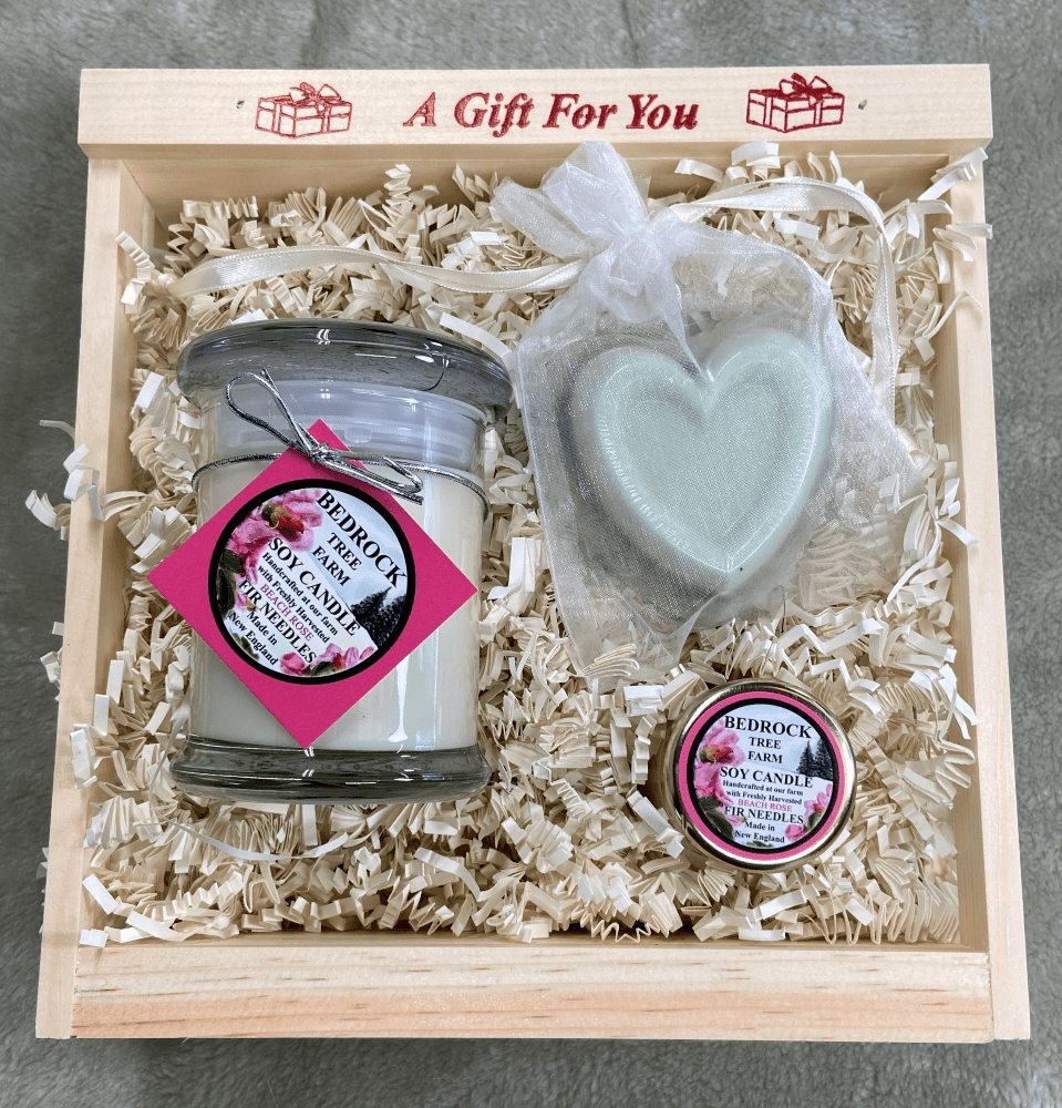 BEACH ROSE GIFT CRATE