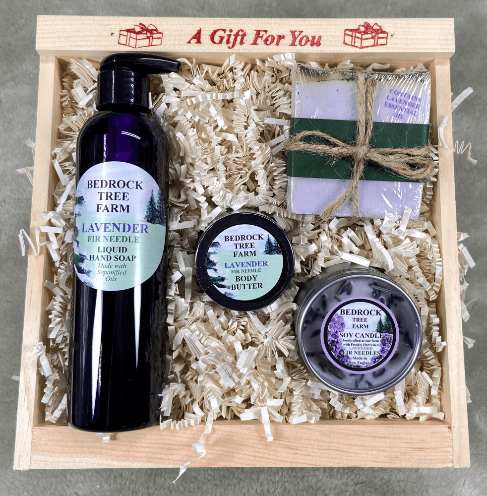 LAVENDER GIFT CRATE