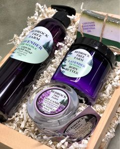 LAVENDER GIFT CRATES - ORDER PREPACKAGED OR BUILD YOUR OWN